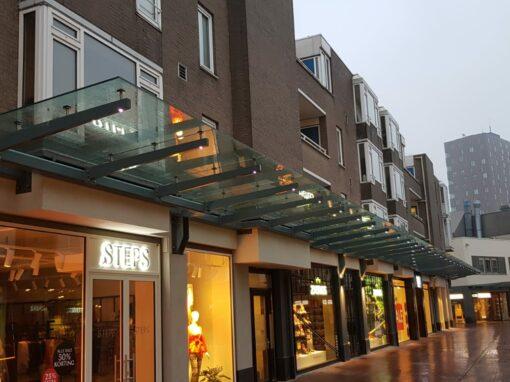 Glazen luifel centrum Zoetermeer