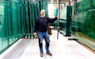 Van eenmanszaak tot groothandel in glas
